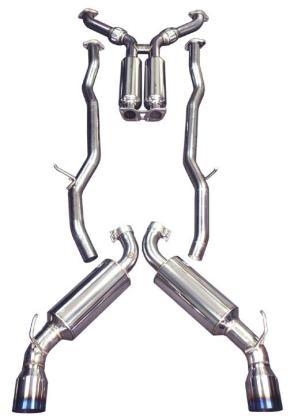 "Focus ST - Injen 3"" Cat-Back Stainless Steel Exhaust System w/Titanium Tip"