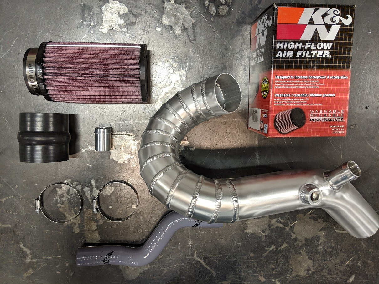 PRE ORDER / SALE - 2JR Focus ST Cowl Induction Intake  S3 Launch Edition