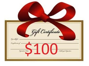 $100 Gift Certificate (save $10)