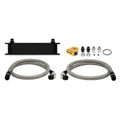 Mishimoto Universal Thermostatic 10 Row Oil Cooler Kit
