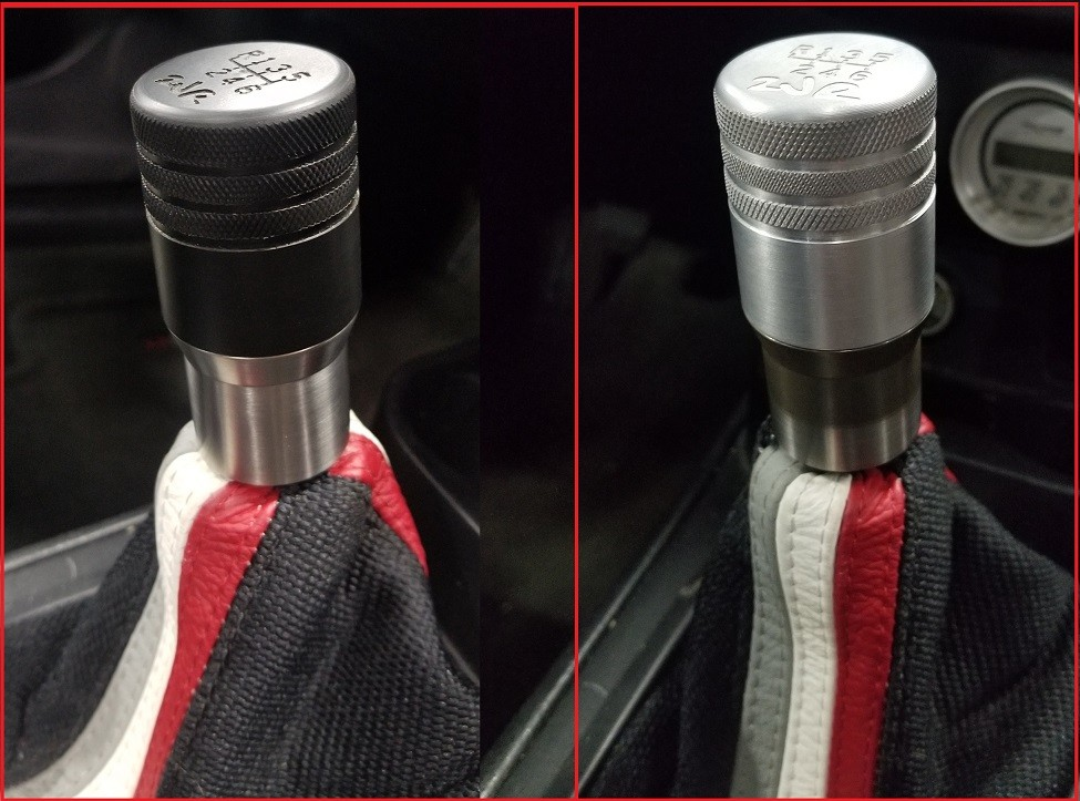 2JR V5 Stainless Shift Knob - Fully Customizable