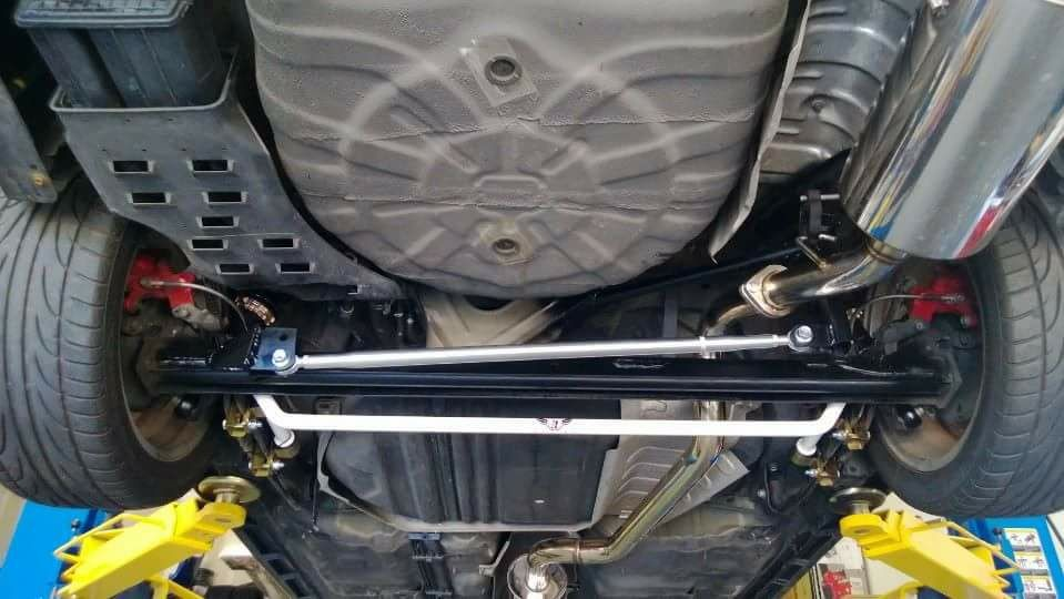 2JR 25mm Fully Adjustable Rear Sway Bar (B15)