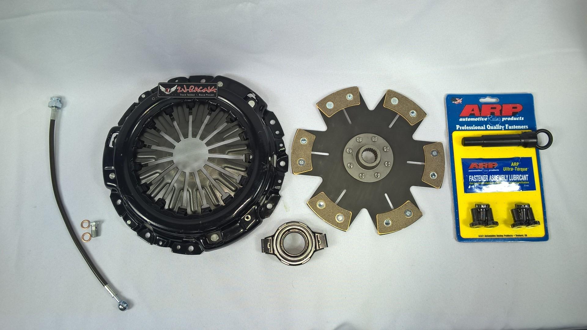 2JR STAGE IV Clutch Kit (550whp) - QR25DE and VQ35DE