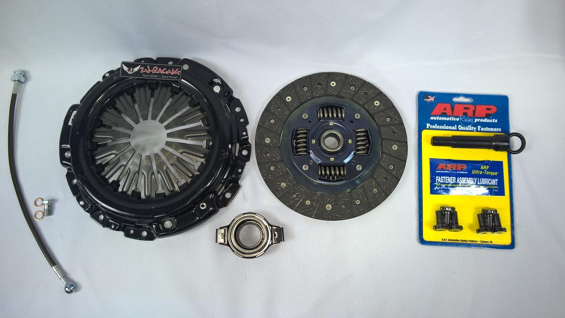 2JR Stage I Clutch Kit, OEM Stock Upgrade (275whp) - QR25DE