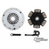 Clutch Masters Nissan SR Sentra Turbo FX400 Sprung 6-Puck Ceramic Clutch Kit