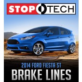 StopTech Stainless Steel Brake Lines: 2014 Fiesta ST