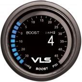Revel VLS 52mm 30inHg-45PSI Digital OLED Boost Gauge