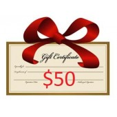 $50 Gift Certifcate (save $5)