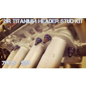 2JR B15/B16 Race-Spec Titanium Header Stud Full Kit