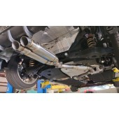 Center Exit Limited Corolla Stainless Catback (Hatchback) - Serial #1