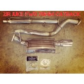 2JR FWD Juke 70mm Stainless Catback Exhaust
