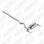 MBRP Ford Focus RS 3in Aluminized Dual Outlet Cat-Back Exhaust