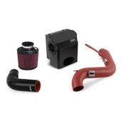 Mishimoto 2014-Current Ford Fiesta ST 1.6L Performance Air Intake Kit - Wrinkle Red
