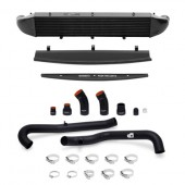Mishimoto 2014-Current Ford Fiesta ST 1.6L Front Mount Intercooler (Black) Kit w/ Pipes (Black)