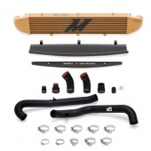 Mishimoto 2014-Current Ford Fiesta ST 1.6L Front Mount Intercooler (Gold) Kit w/ Pipes (Black)