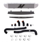 Mishimoto 2014-Current Ford Fiesta ST 1.6L Front Mount Intercooler (Silver) Kit w/ Pipes (Black)