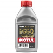 Motul 1/2L Brake Fluid RBF 660 - Racing DOT 4