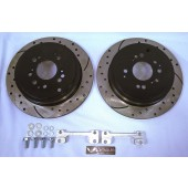 "B15 12.3"" Rear Big Brake Kit - Drilled / Slotted"