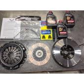 2JR Rigid Disk Stage III Clutch Kit (400whp) - QR25DE and VQ35DE
