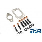 "Turbo Manifold Bolt and Gasket Kit  / M10 x 1.25"" Thread pitch T3 Gasket"