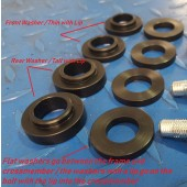 2JR Crossmember Delrin Bushings- Wheel Hop Aid (B13/B14/B15)